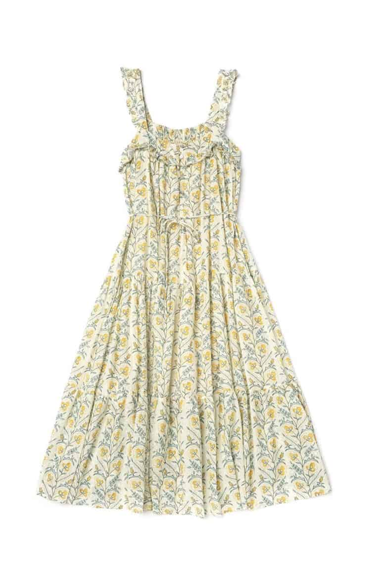 This style is called The Butterfly Dress. LaliKids makes mostly kid clothes, but has a Mommy & Me line. My girls wouldn't be caught dead in a smaller version of anything I wear. But if you're into that sort of thing, this brand has some great options.  -