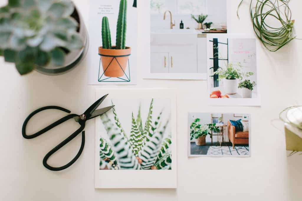 Photographs of rooms trying to use Feng Shui for home layout.