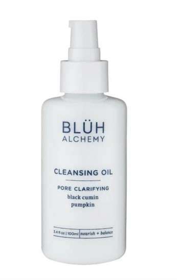 bottle of bluh alchemy chemical free product to